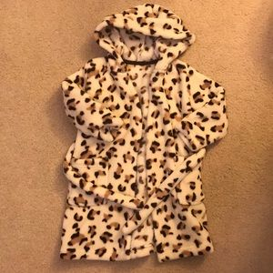Other - Animal print Toddler robe